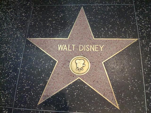 hvězda Walta Disneyho