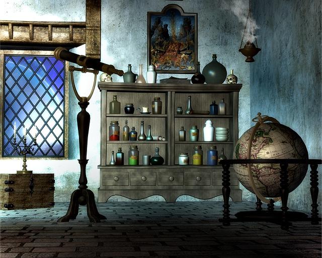 kouzelnický dům