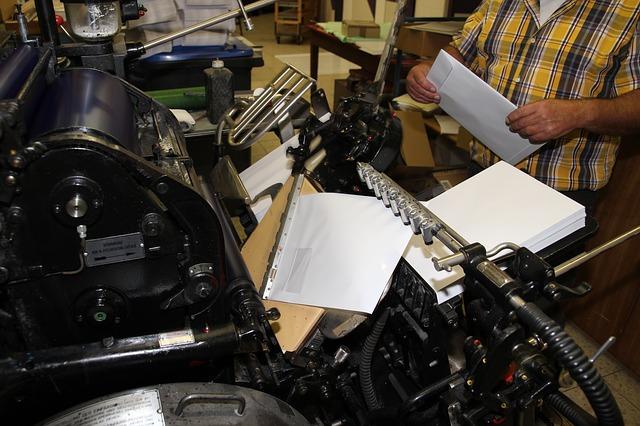 práce s tiskárnou