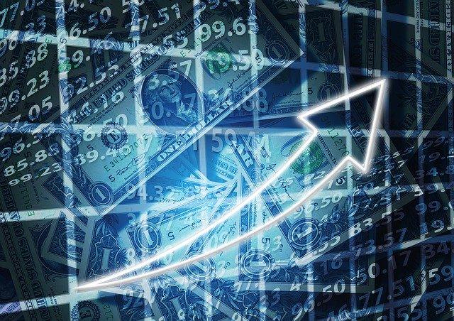 graf růstu splátek