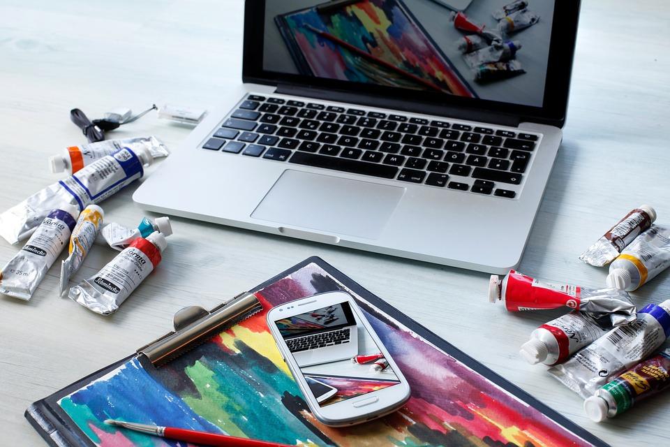 notebook a umění